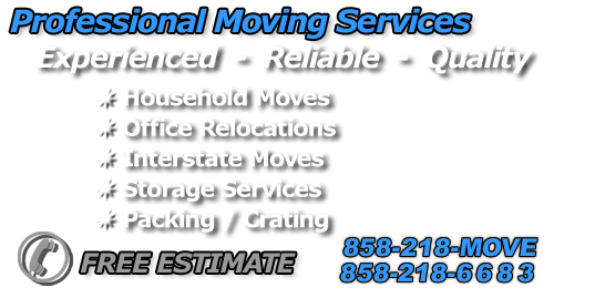 Professional moving services - household moves, office relocations, interstate moves, storage services, packing, crating